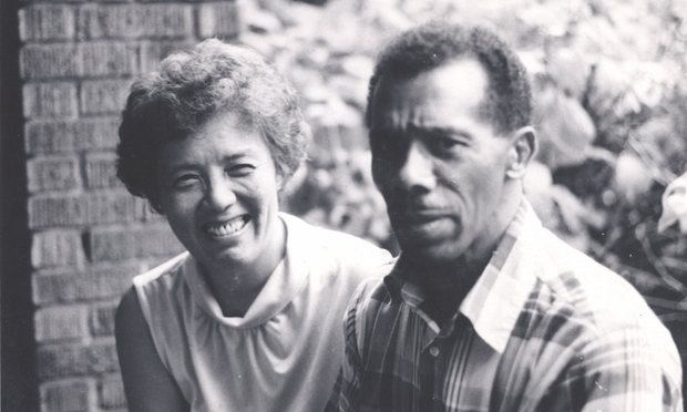 Grace Lee Boggs and James Boggs, in an undated photo. LeeLee Films.