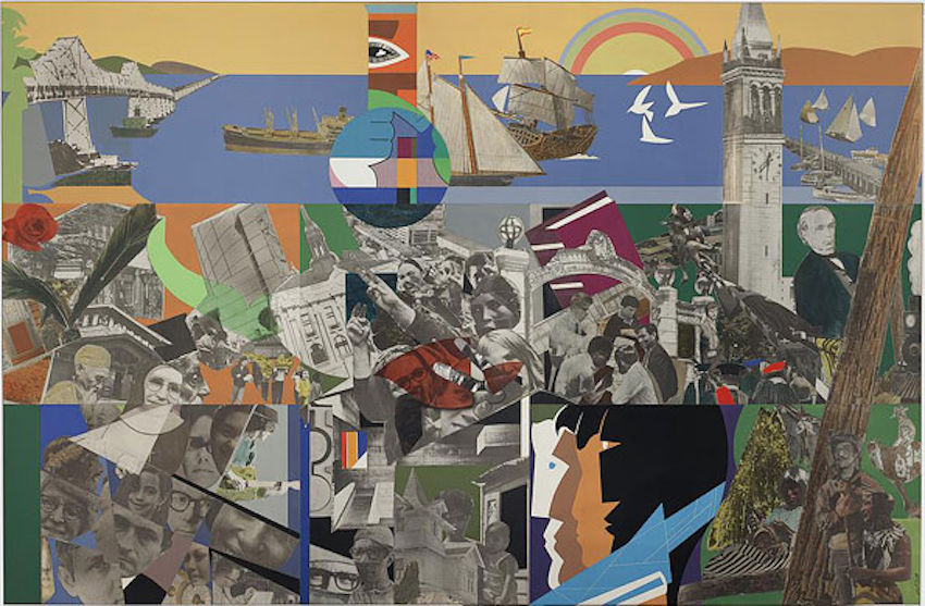 Romare Bearden. The City and its People. 1973
